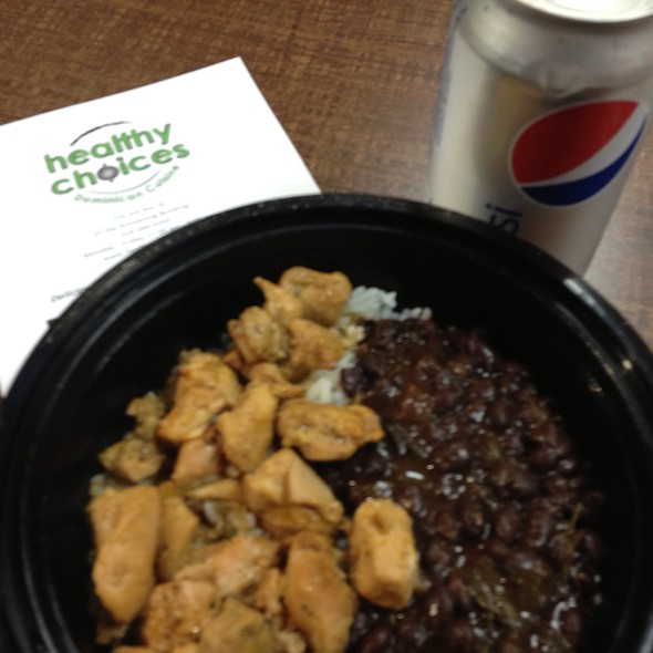 Chicken Dish With Rice & Black Beans @ Healthy Choices