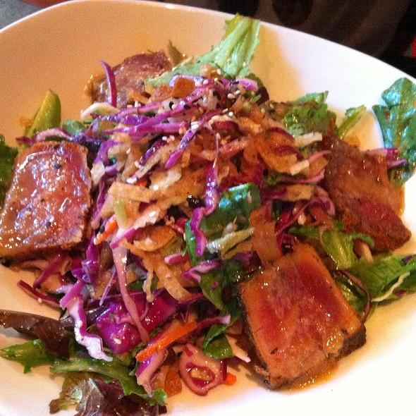Crunchy Ahi Salad