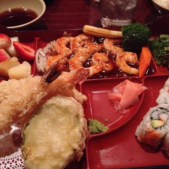 Shrimp Teriyaki Bento Box @ Oyama Japanese Steakhouse