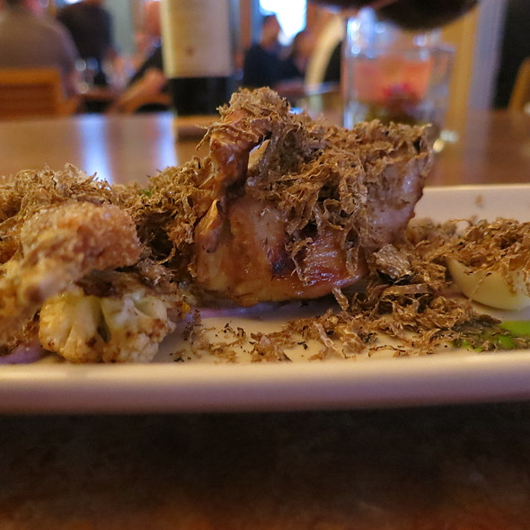 Which Came First? (Quail Three Ways with Shaved Truffles)