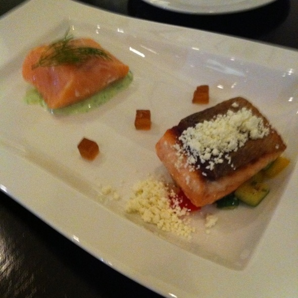 Salmon 2 Way @ Aston