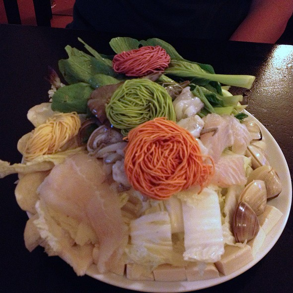 Seafood Noodles In Hotpot @ An Khue Quan