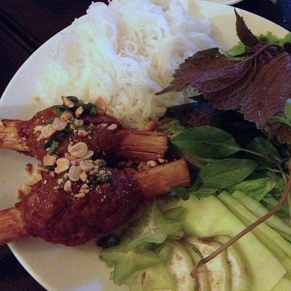 Shrimp Paste On Sugarca @ An Khue Quan