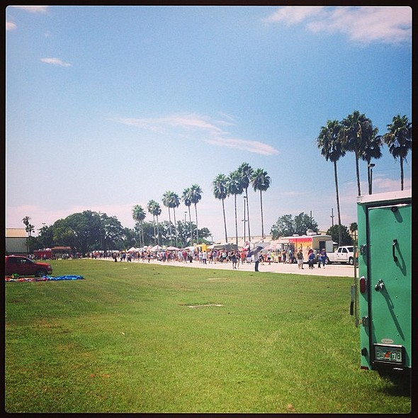 Over 32,000 people joined us yesterday for The World's Largest Food Truck Rally EVER! @ Florida State Fairgrounds