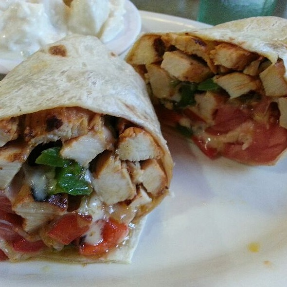 Philly Chicken Cheesesteak Wrap