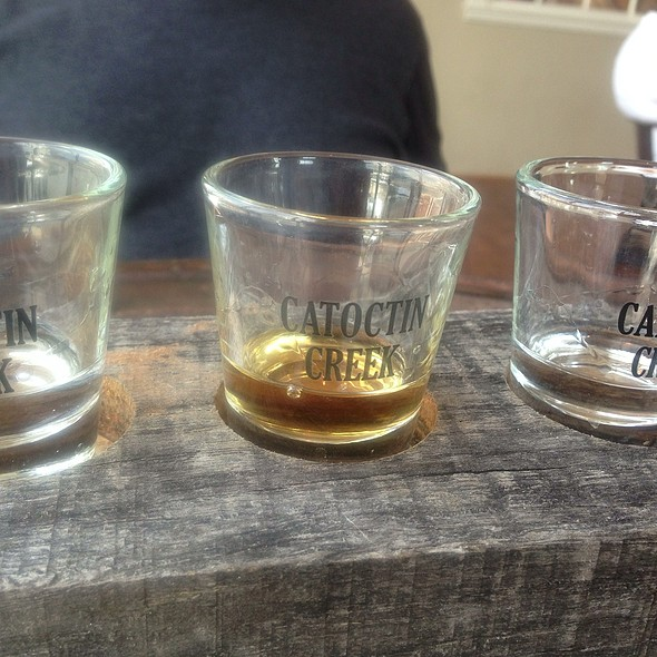 Whiskey @ Catoctin Creek Distilling Company
