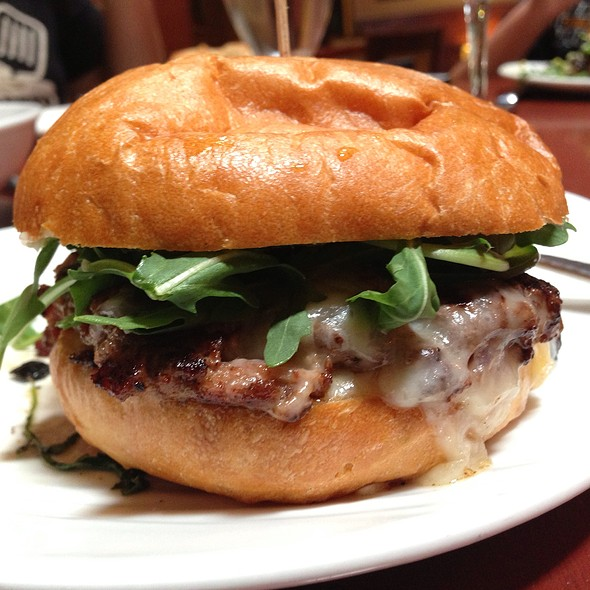 Fifty-Fifty Burger @ 58 Degrees & Holding Co.