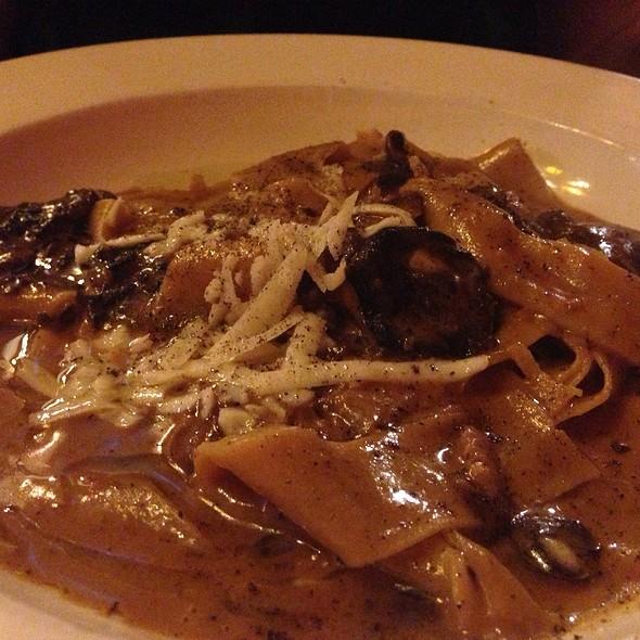 Pappardelle Con Funghi - Scottadito Osteria Toscana, Brooklyn, NY