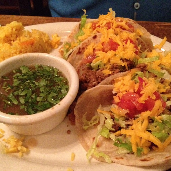 Ground Beef Brisket Tacos - Ninfa's on Navigation, Houston, TX