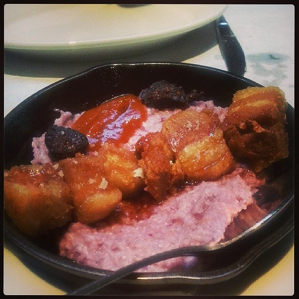 Pig and fig : pork belly, grits and fig @ Meddlesome Moth The
