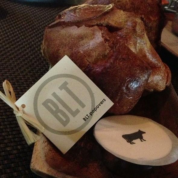 popovers @ BLT Steak
