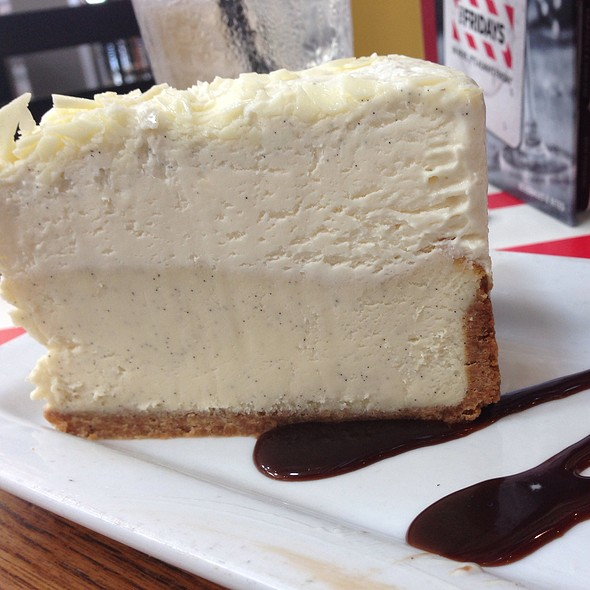 Vanilla Bean Cheesecake at TGI Friday's