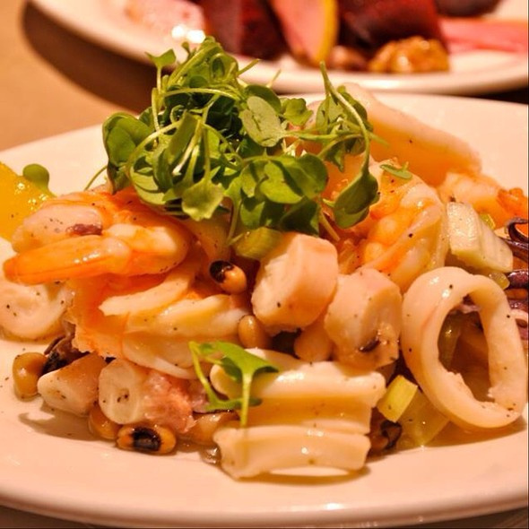 Sea Food Salad - BEVO Bar + Pizzeria, Montréal, QC