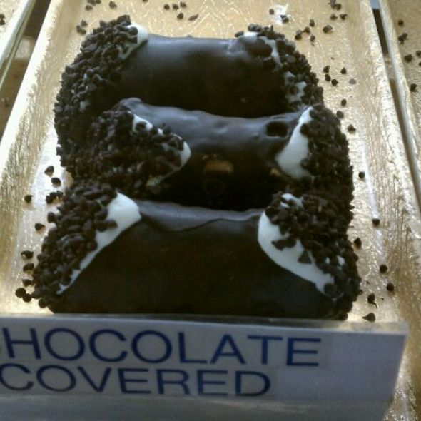 Cannoli, Chocolate Dipped @ Mike's pastry