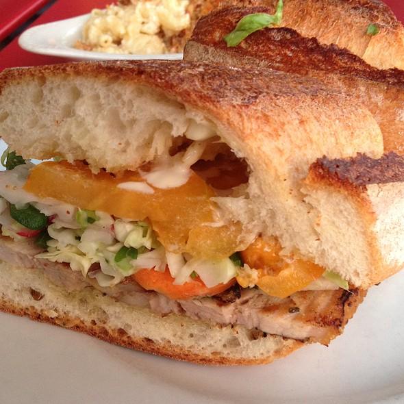 Pork Belly Sandwich @ Forage