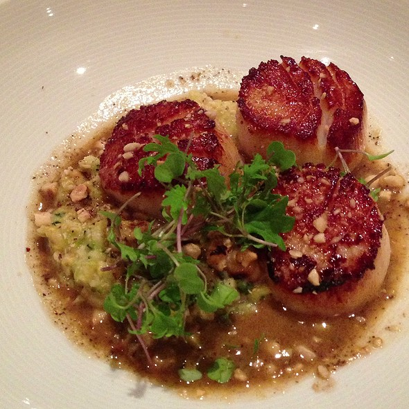 Seared Scallops - The Restaurant at Wente Vineyards, Livermore, CA