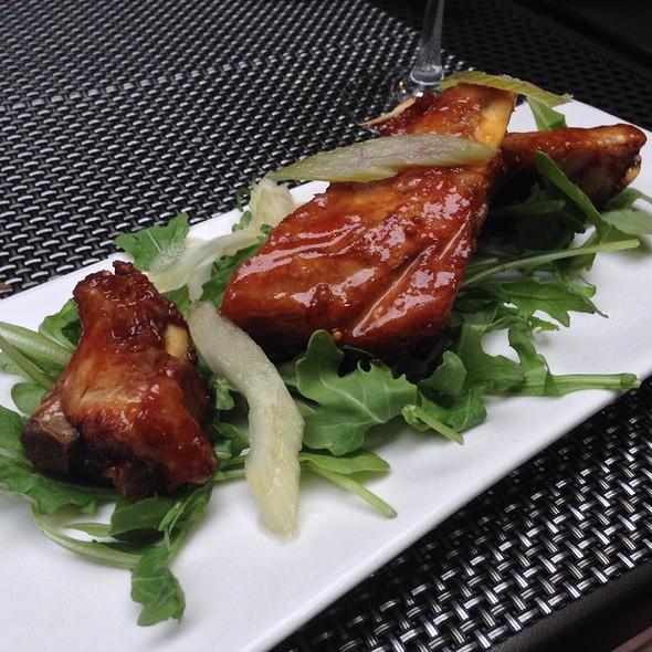 Maple Glazed Pork Ribs @ Globe Earth