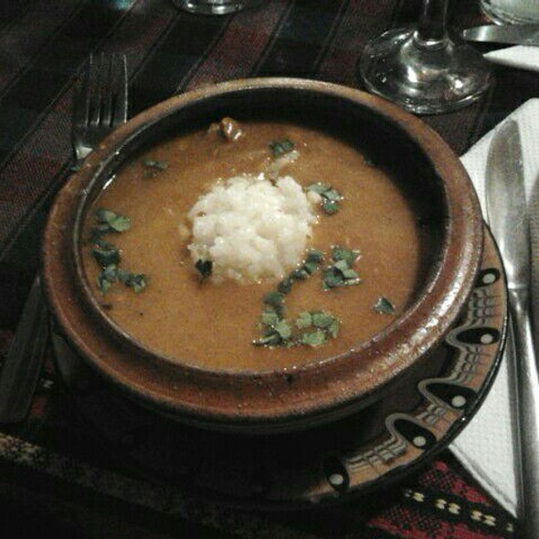 Bulgarian Kebab with Rice @ Hubava Krachma
