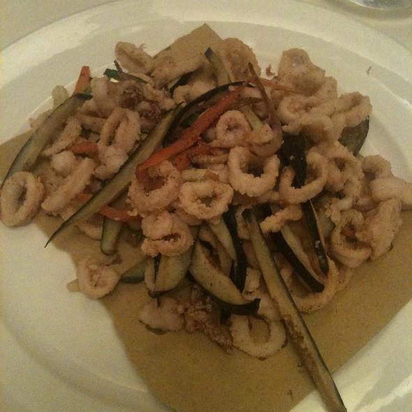 Frittura Di Calamaretti E Verdure @ Osteria dalla Pierina