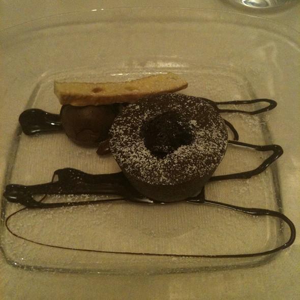 Tortino Di Cioccolato Fondente @ Osteria dalla Pierina