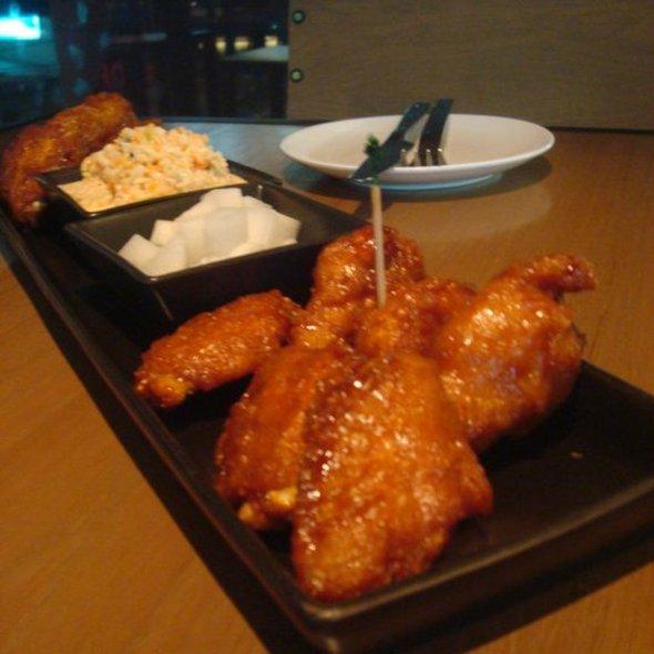 Amazing chicken wings @ bonchon chicken