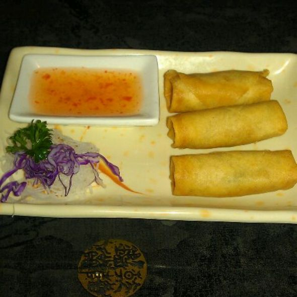 Japanese Spring Roll @ Kyoto Sushi & Grill