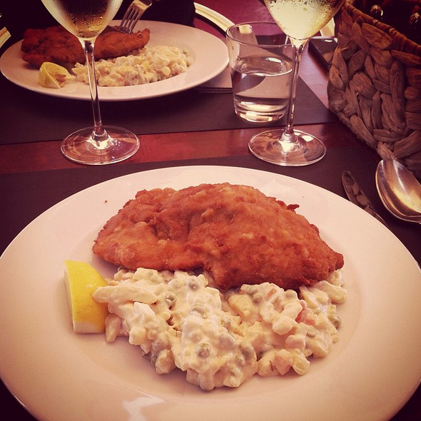 Pork Schnitzel With Potato Salad