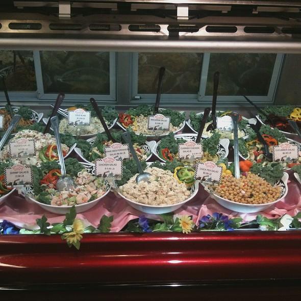 Cold Salad Case @ Annie's Vintage Gourmet Market