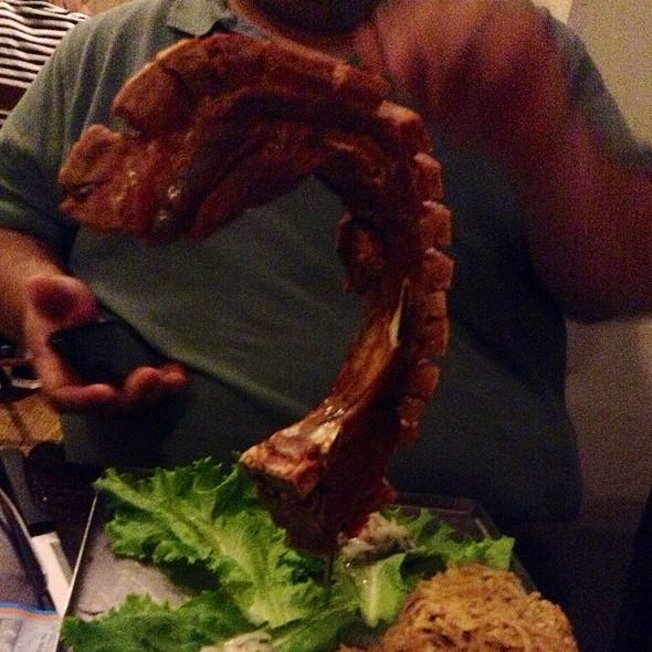 Chuletas Can Can @ Restaurante Vaca Brava