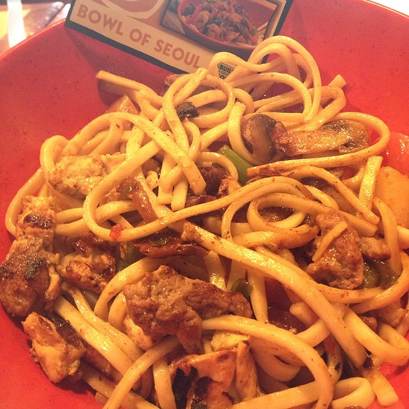 Bowl Of Seoul @ Genghis Grill