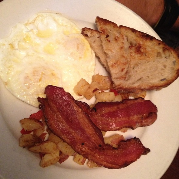 Bacon and eggs - Cafe Genevieve, Jackson, WY