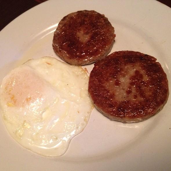 Sausage And Eggs - Cafe Genevieve, Jackson, WY