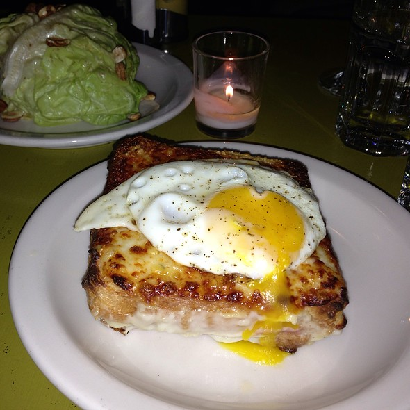 Croque Monsieur Madame @ Cafe Presse