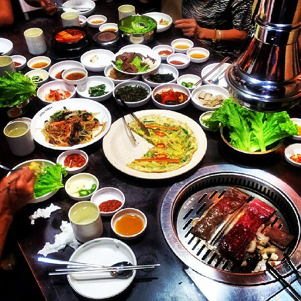 Korean BBQ and Bottomless Side Dishes! @ Seoul Korea BBQ Restaurant