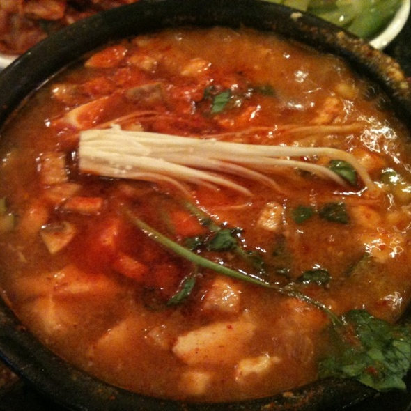 Spicy Seafood Tofu Soon Doo Boo @ Ka Chi Korean Restaurant