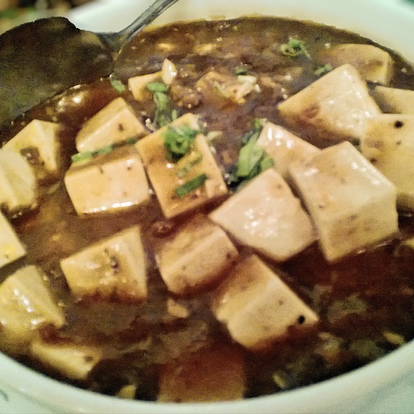 Mapo Tofu at Hong Kong Restaurant