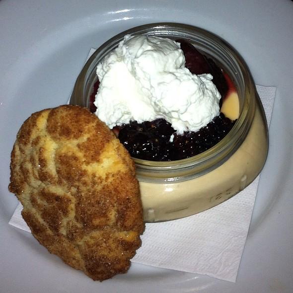 Butterscotch Panna Cotta @ The Abbey Eat + Drink