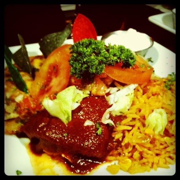 Chicken Enchilada Dinner Special - Alley Restaurant & Bar, Newport Beach, CA