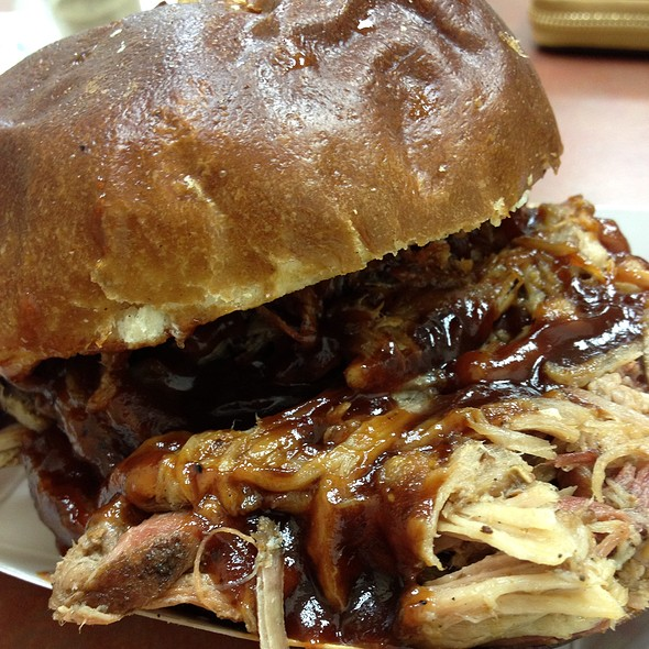 BBQ Pulled Pork Sandwich - Porkchop - West Loop, Chicago, IL