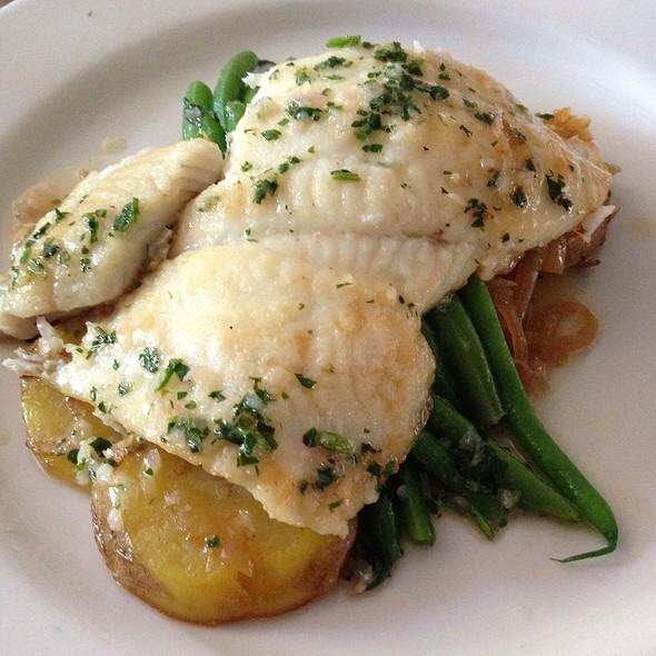 Petrale Sole With Lyonnaise Potatoes - Depot Hotel Restaurant, Sonoma, CA