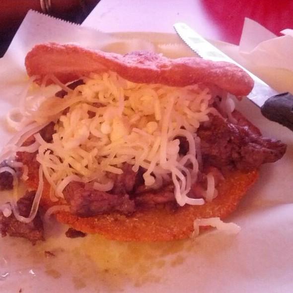 Beef Gordita @ Tex-Mex Taqueria