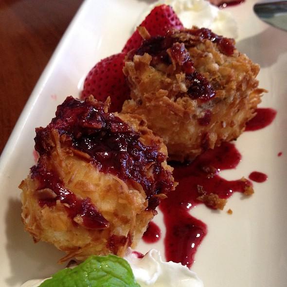 Deep Fried Cheesecake In Coconut Batter @ Haru