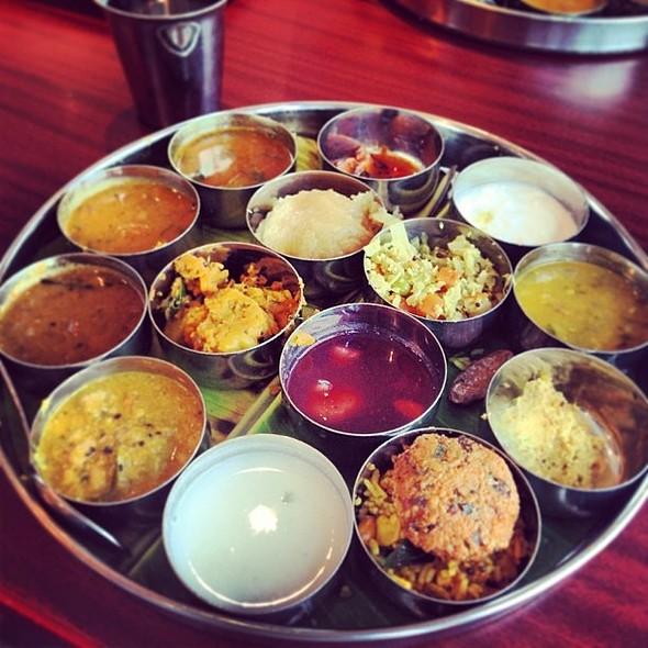 Special Thali at Saravanna Bhavan Indian Vegetarian Restaurant @fnbboy @ Saravanaa Bhavan