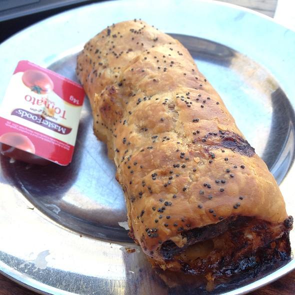 Lamb, Harissa And Almond Sausage Roll @ Bourke Street Bakery Surry Hills