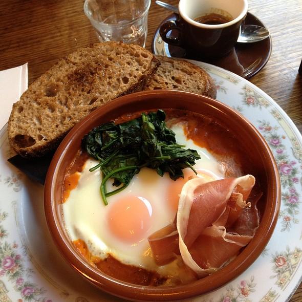 Slow Grilled Eggs @ Reuben Hills