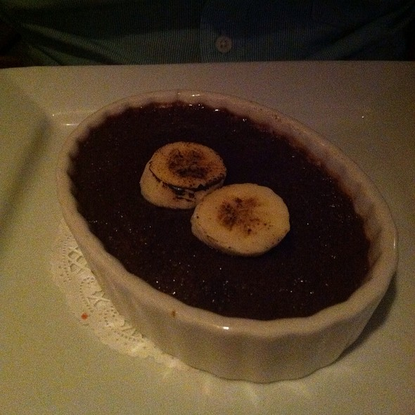 Chocolate Banana Creme Brulee