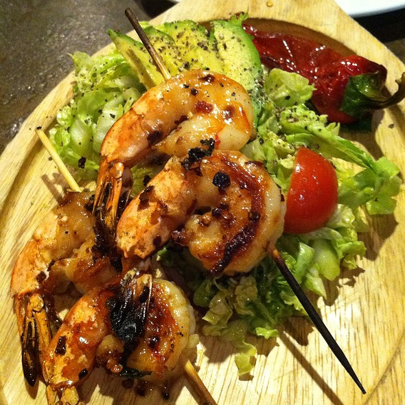 Tiger Prawn Skewers @ The Independent Restaurant And Bar
