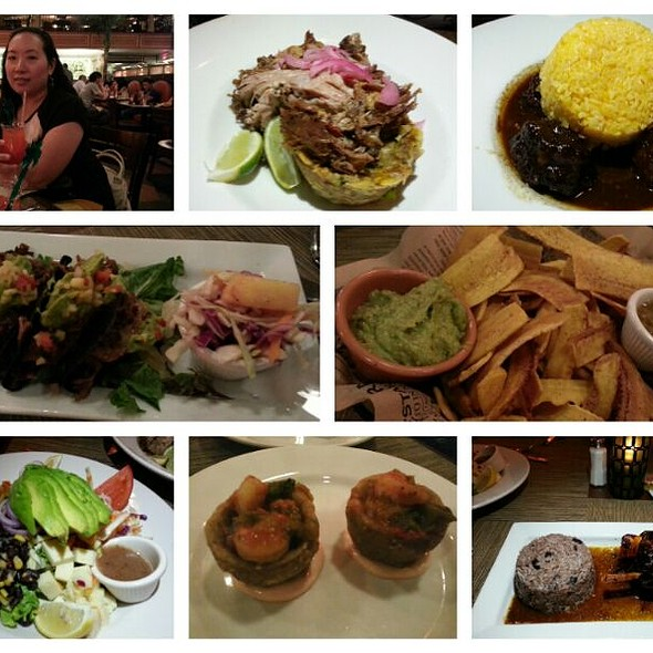 Mofongo, Oxtail, Plantain Chips With Avocado Salsa And Etc @ Havana Central
