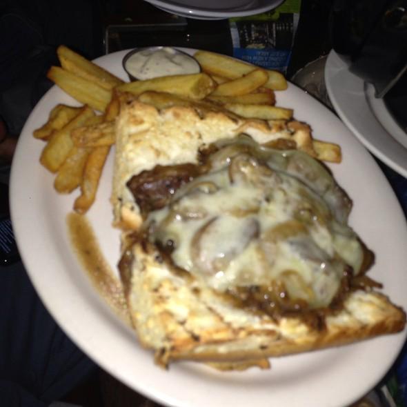 Marinated Hangar Steak Sandwich - Eulogy Belgian Tavern, Philadelphia, PA