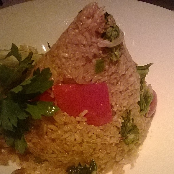 Spicy Thai Fried Rice With Shrimp @ Yum Yum Too